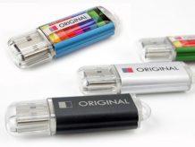 Schöner USB-Stick mit beidseitiger Veredelung