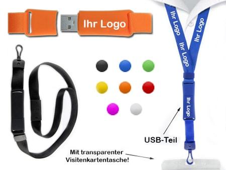 Der USB-Stick-Teil und der Anhänger werden durch einem eingebauten Magnet gehalten