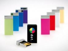 Moderner USB-Stick mit Magnetverschluss