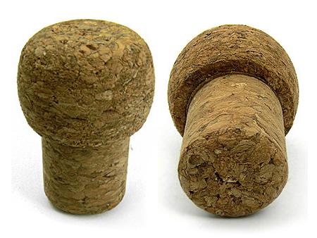 Pilzförmige Kork-USB-Stick