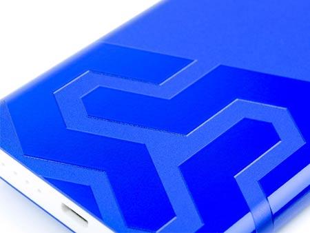 Exklusive Druckmethode: 3D-High-Gloss-Finish