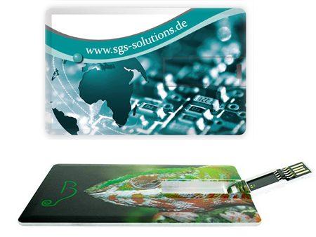 Flaches Format mit langer USB-Klappe
