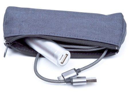 Passende Tasche aus Jeansstoff