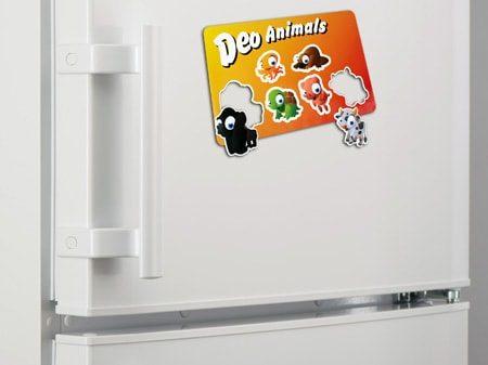 Günstiger Streuartikel Kühlschrankmagnet