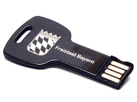 Robuste Verarbeitung und edles USB-Werbegeschenk