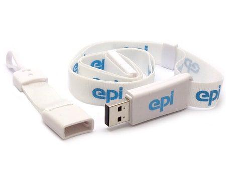 USB Lanyard - Perfektes USB-Werbegeschenk für die Messe
