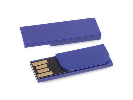 Blauer USB-Clip