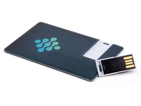 Personalisierbare USB-Sliding-Card