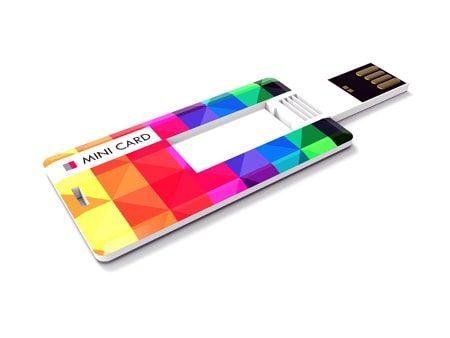 Kleine USB-Visitenkarte mit großer Werbewirkung.