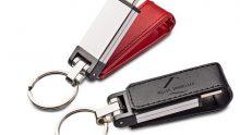 """Die """"Lederzunge"""" verläuft einmal um die USB-Schnittstelle"""