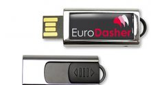 Luxuriöser USB-Stick mit ausschiebbarem Anschluss