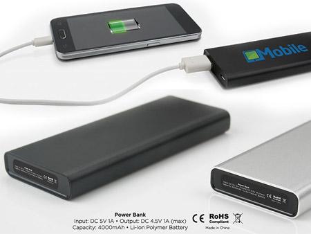 Powerbank mit USB-Anschluss