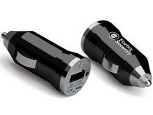 USB-Autoladegerät aus Metall mit USB-Anschluss