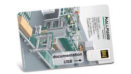 """USB-Mailing """"Postkarte"""""""