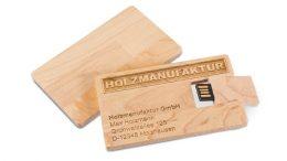 """USB-Visitenkarte """"Holz"""""""