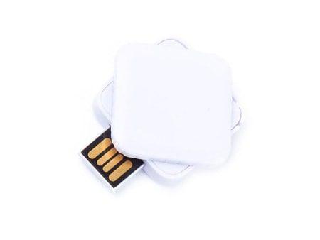 Quadratischer USB-Mini-Stick mit Drehmechanismus