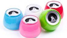 Bunter Bluetooth-Lautsprecher für einen guten Sound