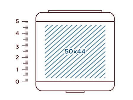 Logodruck auf der Deckeloberseite möglich