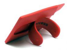Kartenhalter-Etui und Silikon-Handyhalter in einem Produkt