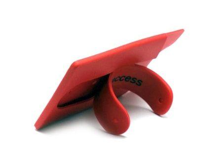 """Handy-Halterung """"Stick It"""" Kartenhalter-Etui und Silikon-Handyhalter in einem Produkt"""