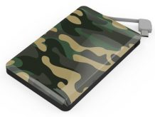 Powerbank im Camouflage-Look