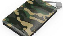 Powerbank im Camouflage-Look