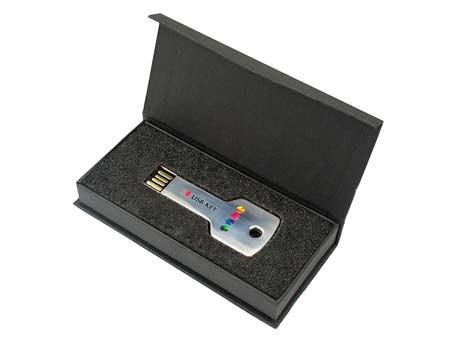 Passende Stülpdeckelbox für USB-Key-Standard