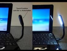 Ein- und Ausschalten per Touch-Funktion möglich