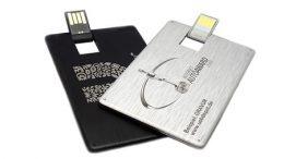 """USB-Visitenkarte """"Aluminium"""""""