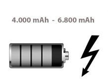 Ladepower 4.000 bis 6.800 mAh