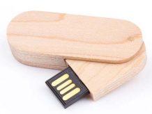 Ausgefallener USB-Stick aus Echtholz