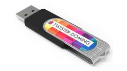 "USB-Modell ""Doming-Twist"""