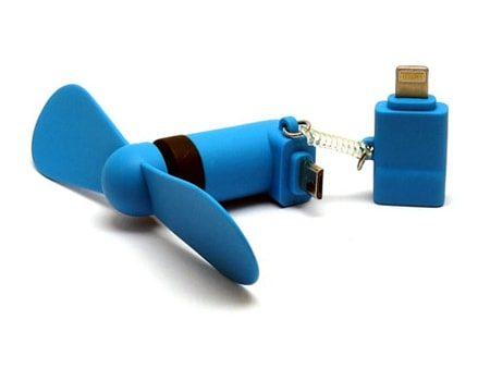 Kunststoff-Ventilator mit Micro-Schnittstelle und Zusatzadapter