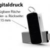 Digitaldruck und großzügige Werbefläche auf dem OTG-Stick