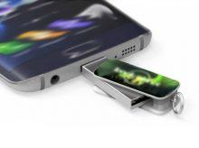 OTG-Stick mit Standard-USB-A-Anschluss und wahlweise mit USB-C oder USB-Micro-Anschluss