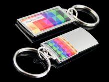 Kleiner Metall-Schlüsselanhänger