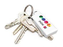 Passt perfekt an ein Schlüsselbund