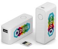 USB-Stick und Powerbank in einem Produkt