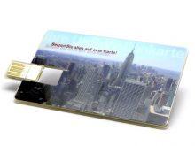 Hochauflösende Bilder auf Ihrer USB-Fotokarte