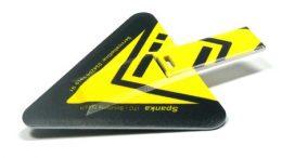 USB Karte hat die Form eines Dreiecks