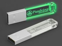 Innovative 3D-Lasergravur im transparenten Crystal-Kunststoffgehäuse