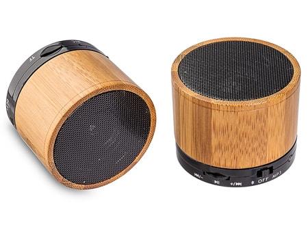 Kompakter Bambus-Holz-Speaker für umweltbewusste Kunden