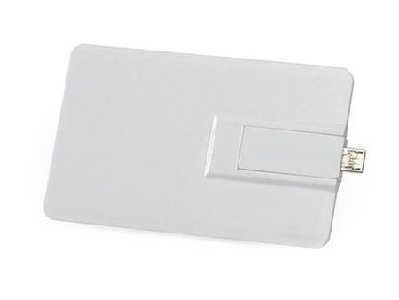 Weiße Duo-OTG USB-Karte