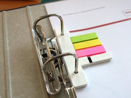 Flaches und elegantes Archivierungssystem