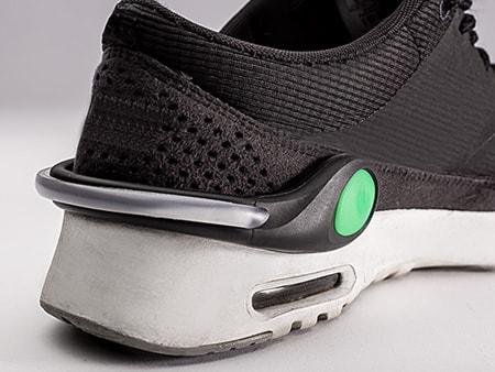 Wasserresistent und einfache Befestigung (Clip) am Schuh