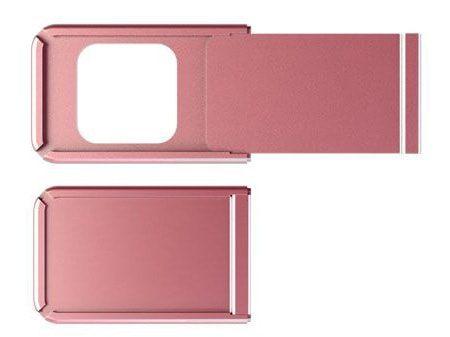 "Pinkes Webcam-Cover ""Alu-Square"""