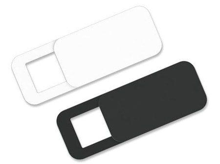 Weißes oder schwarzes quadratisches Webcam Cover