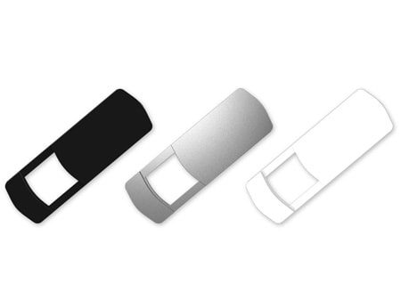 Graues Webcam-Cover Slide als nützliches Werbegeschenk