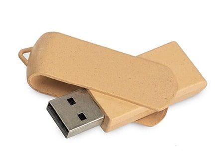 Nachhaltiger USB-Stick aus recyceltem Kunststoff