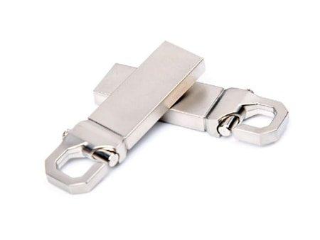 Stabiler Mini-USB-Stick mit eingebautem Haken